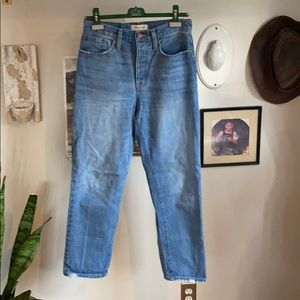 Madewell Dad jeans